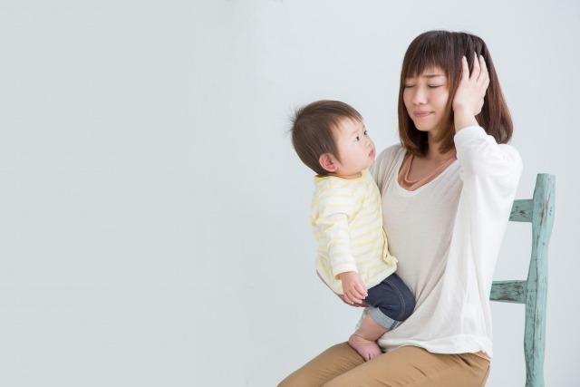 育児ノイローゼに発展するリスクが高まる