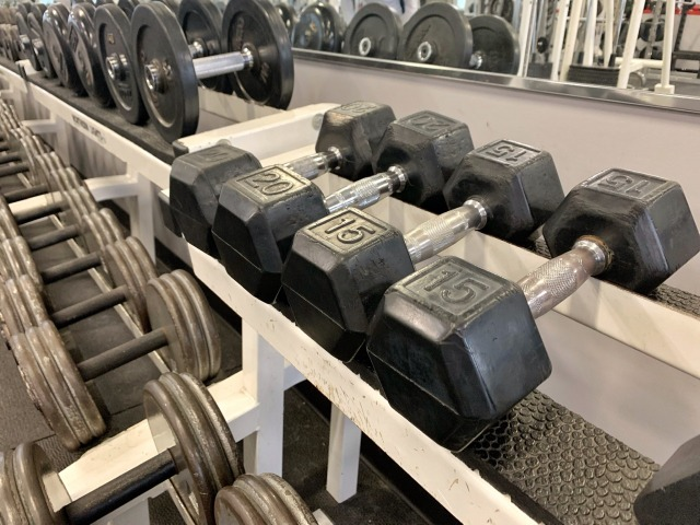 マシンを使ったトレーニングプログラムはない
